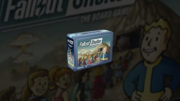 Fallout Shelter: The Board Game box