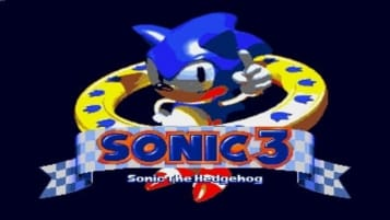 The title screen for the November 1993 prototype of Sonic the Hedgehog 3
