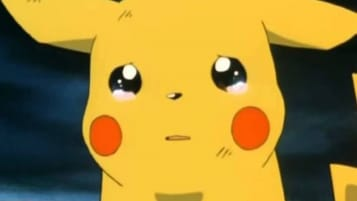 Pikachu crying, most likely because it can't have every single friend in Sword and Shield