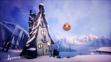 A wonderful creation of winter in Media Molecule's Dreams