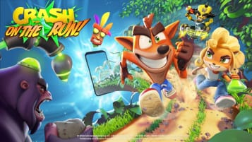 Crash Bandicoot: On The Run! key art