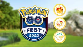 The main image for the Pokemon Go Fest event