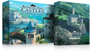 New Box Art showing Between Two Castle's Newest Expansion