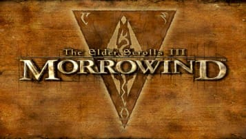 The logo for The Elder Scrolls Morrowind