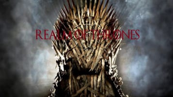 The logo for Realm of Thrones, a mod for Mount and Blade II.