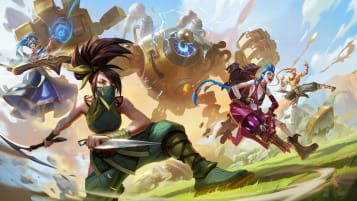 Champions in League of Legends, a game developed by Tencent-owned Riot Games