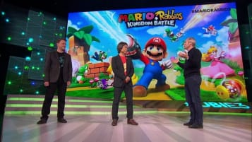 Mario + Rabbids Kingdom Battle On Stage