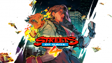 streets of rage 4 key art