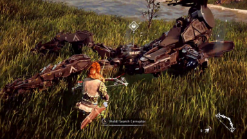 Horizon Zero Dawn Heading