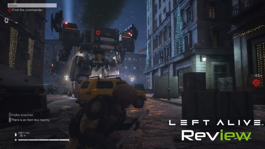 Left Alive Review Metal Gear Subpar Techraptor